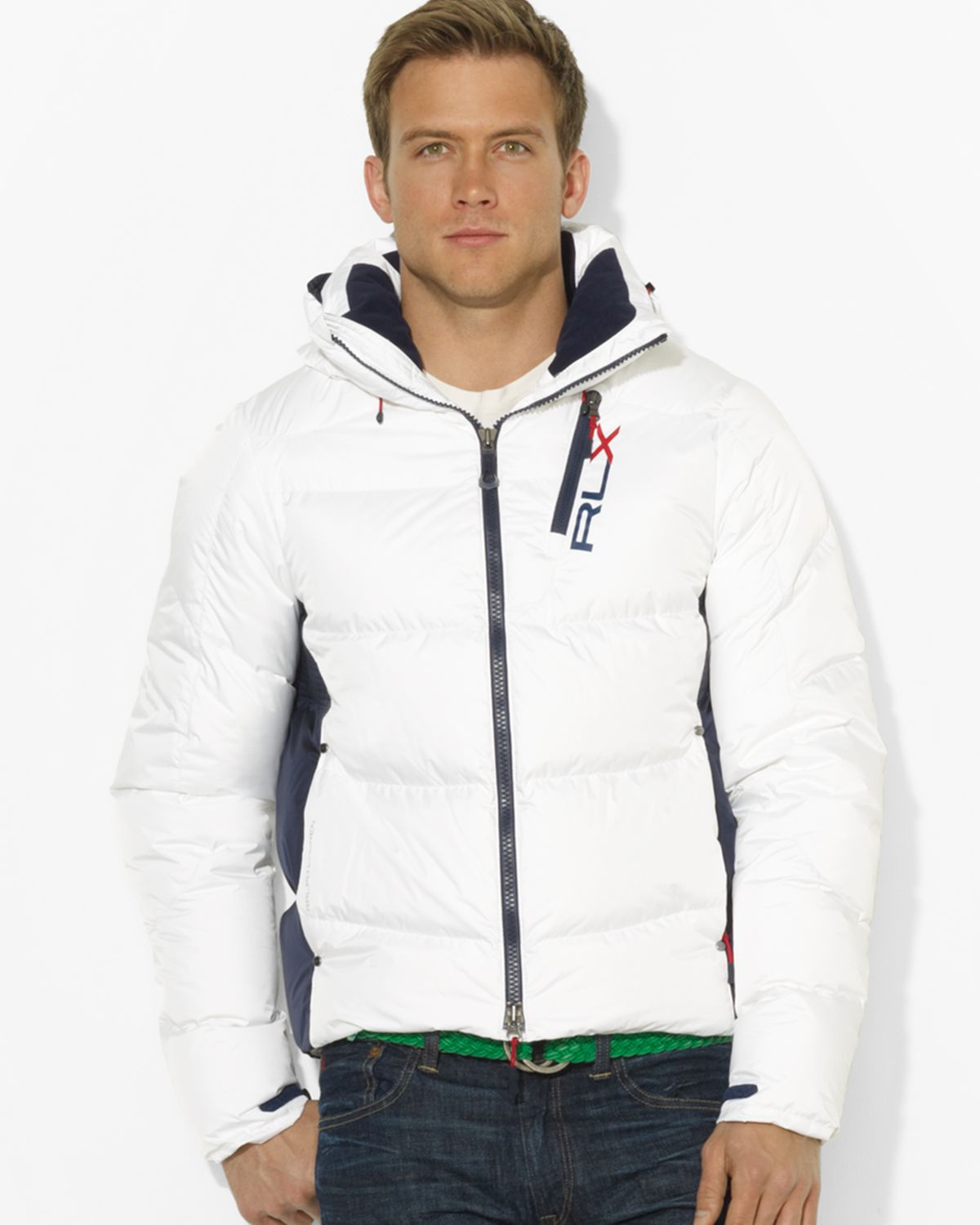 Ralph Lauren Polo Rlx Core Down Jacket in White for Men - Lyst