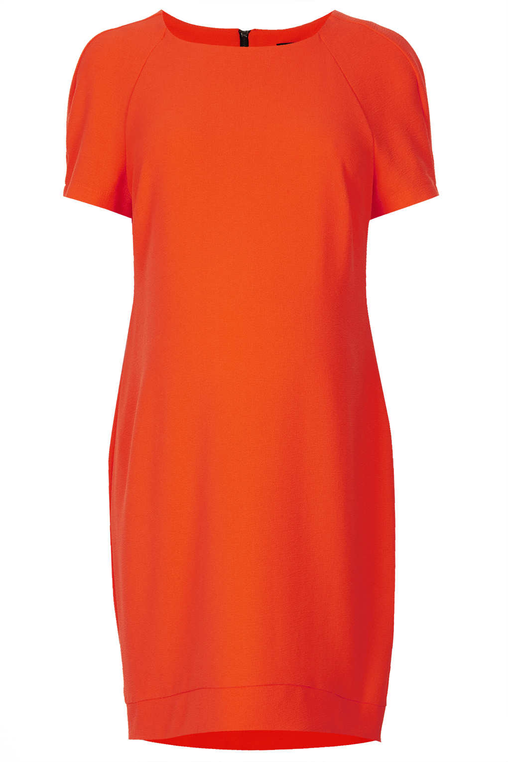 Topshop maternity crepe tee shift dress in orange lyst gallery ombrellifo Gallery