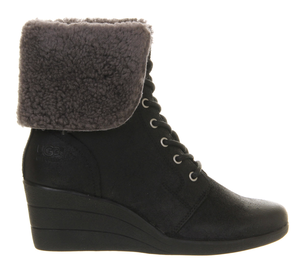 ladies wedge ugg boots