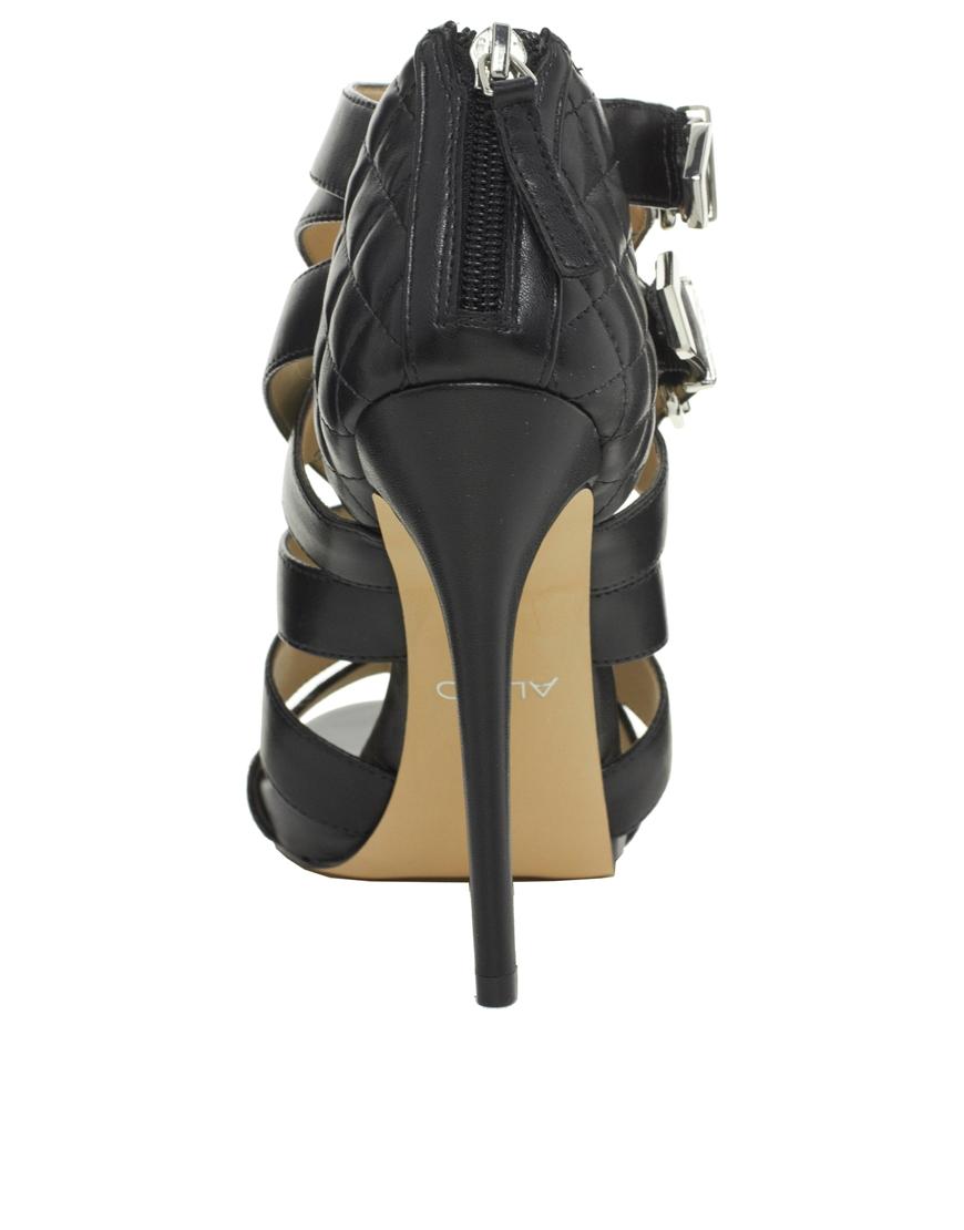 Lyst Aldo Kabinda Strappy Heeled Sandals In Black