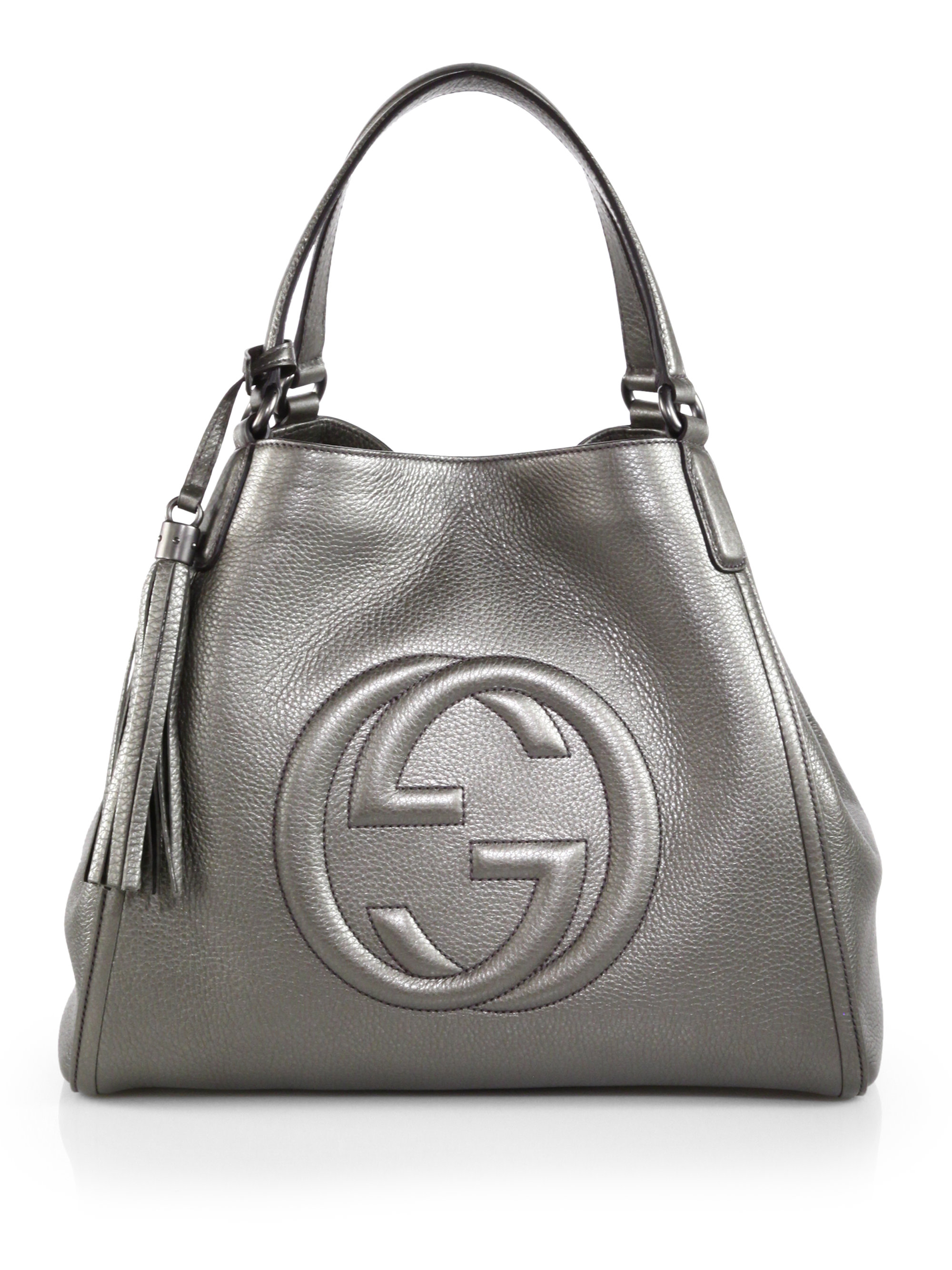 ac0d6731fd6b4 Gallery. Previously sold at  Saks Fifth Avenue · Women s Gucci Soho Bag  Women s Faux Leather ...