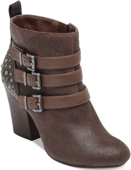 Jessica Simpson Catie Booties in Brown