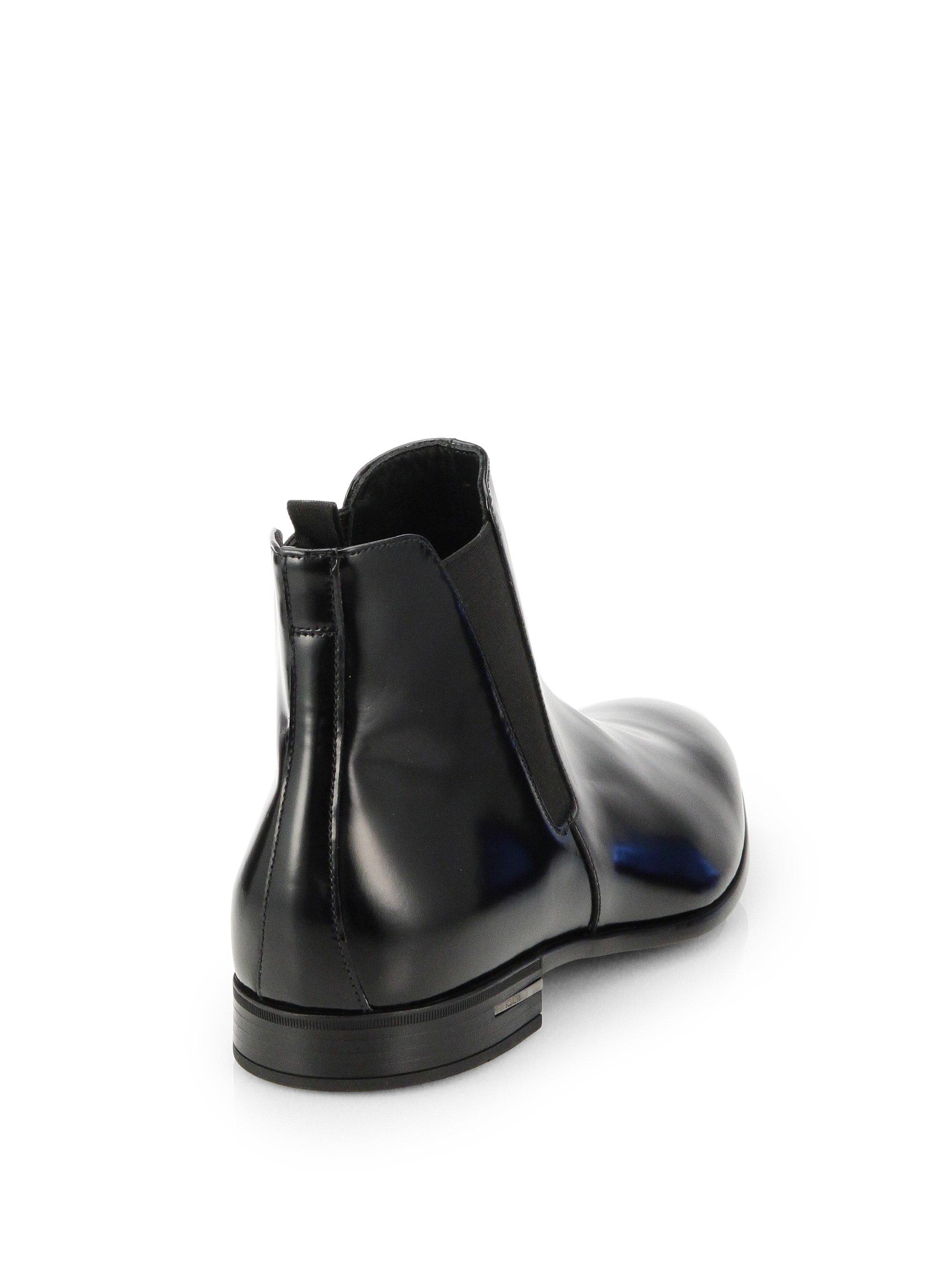 Cheap Mens Prada High Ankle Shoes