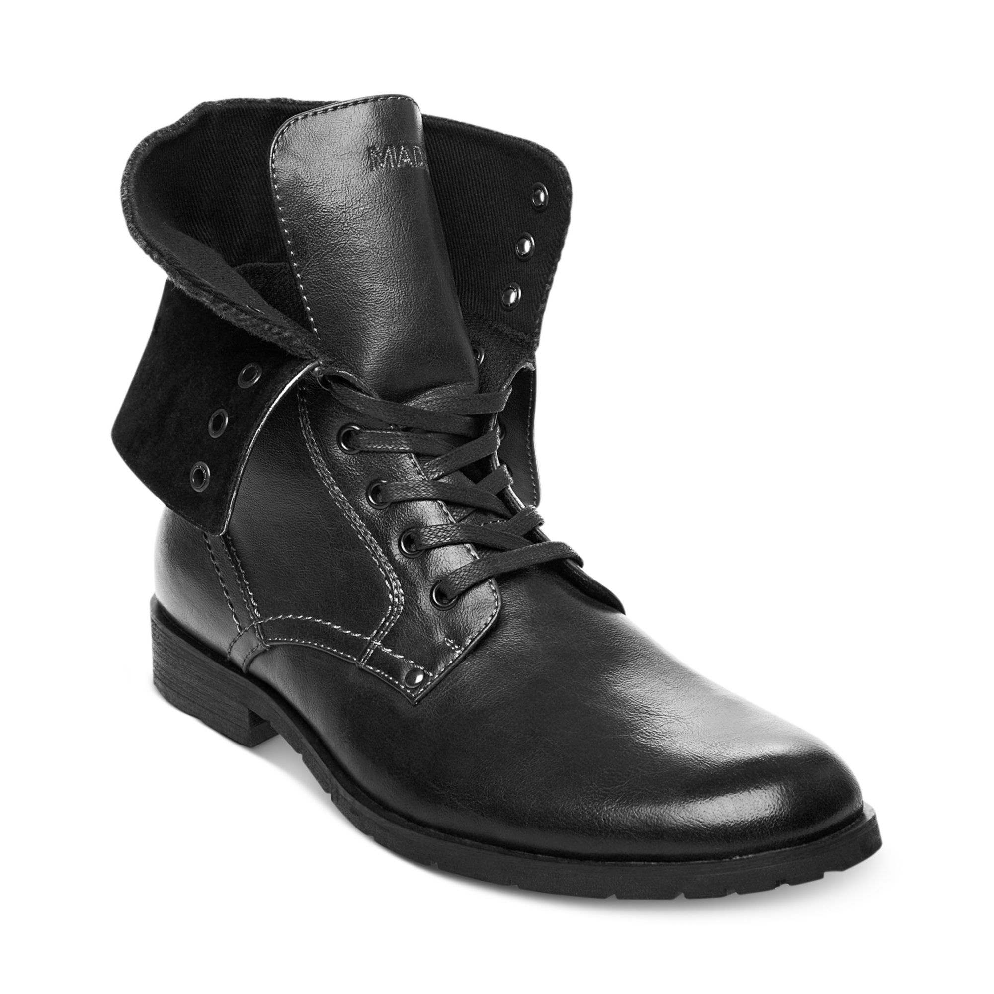 5fd97d2159f Steve Madden Black Madden Shoes Kegger Boots for men