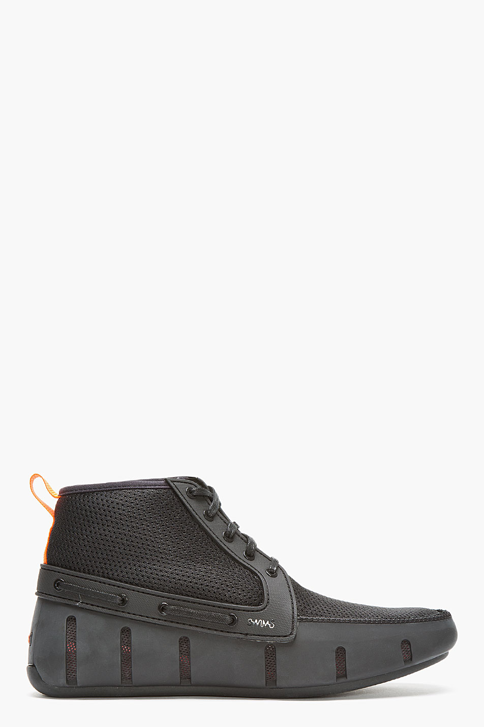 Swims Black Mesh High Top Sport Loafers For Men Lyst