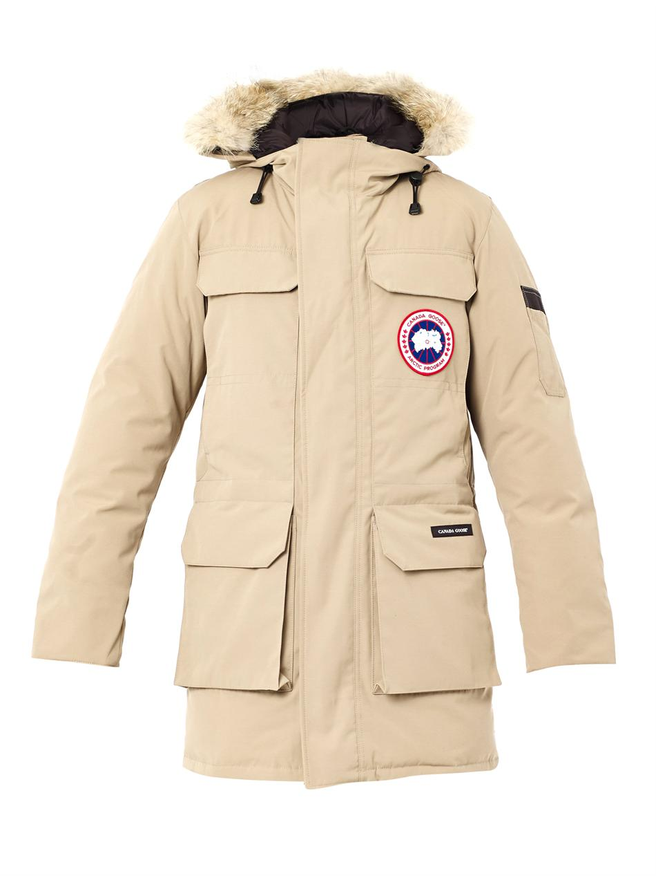 canada goose expedition parka beige