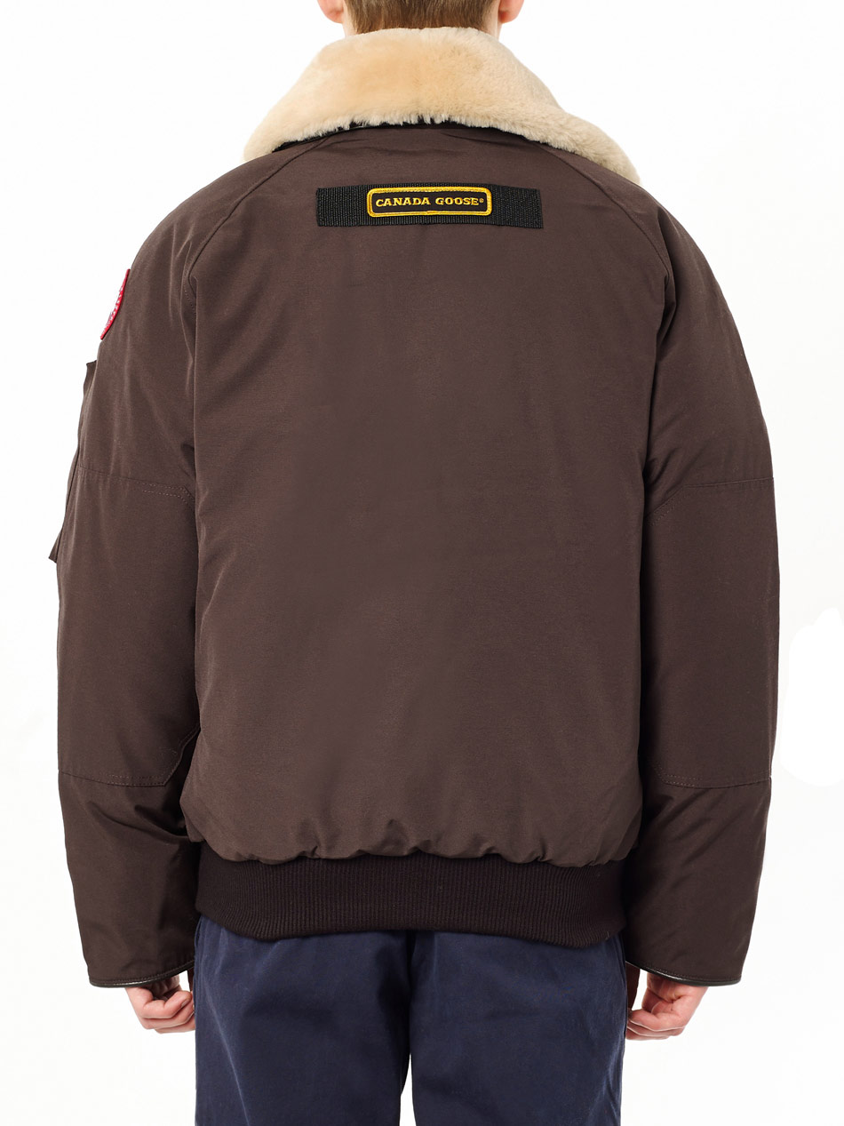 Canada Goose Foxe Bomber Jacket In Brown For Men Lyst