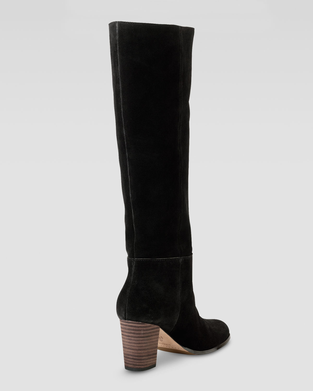 cole haan cassidy air suede boot in black lyst