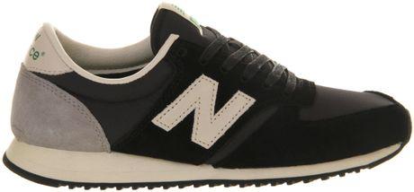 New Balance U420 Black Black Exclusive New Balance U420 in Black
