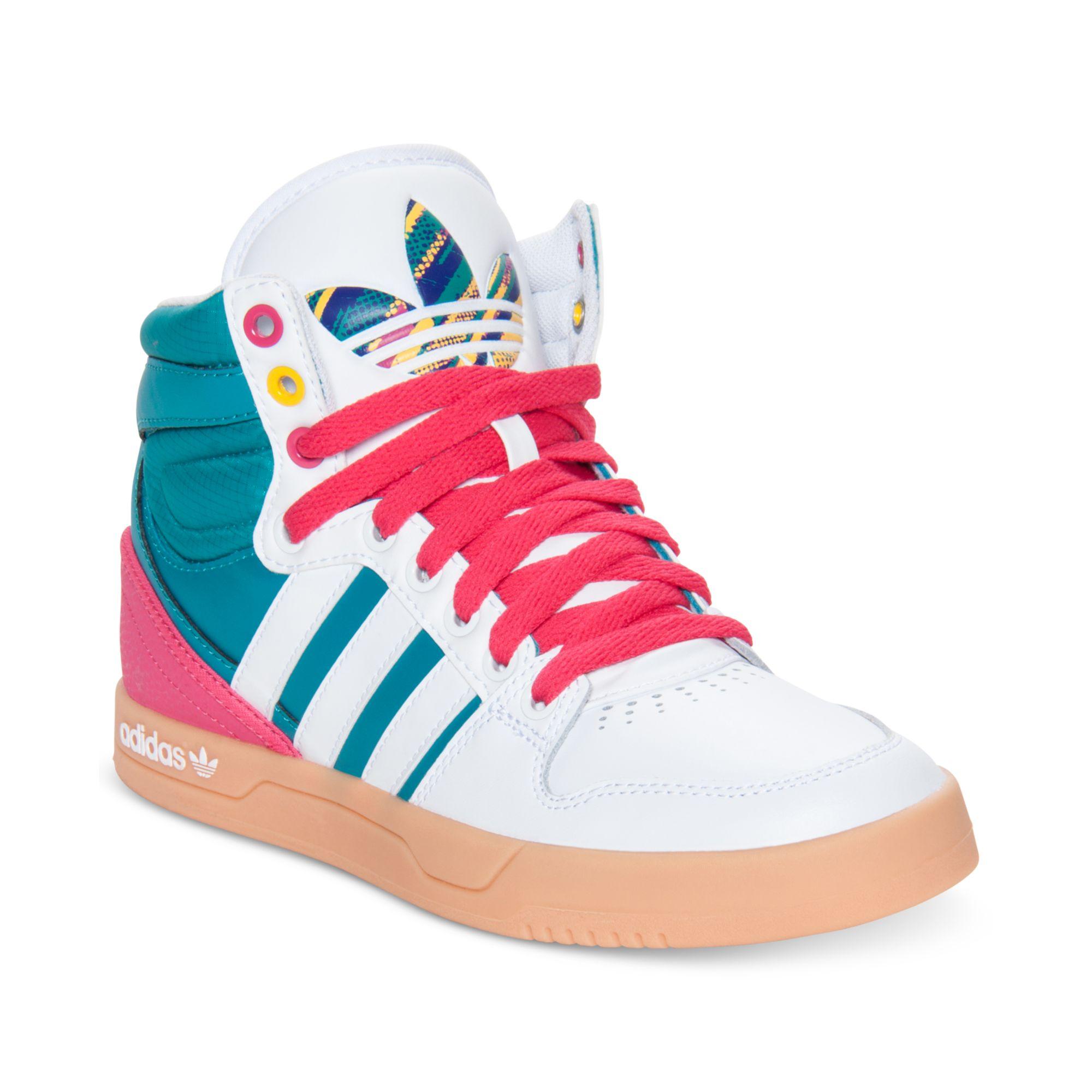 Adidas White Originals Court Attitude Casual Sneakers