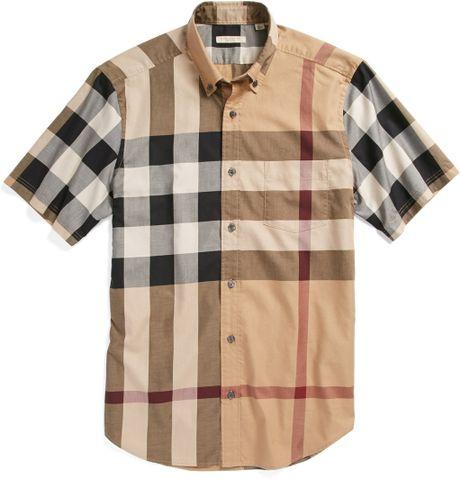83356c24b Gosha Burberry Short Sleeve Shirts