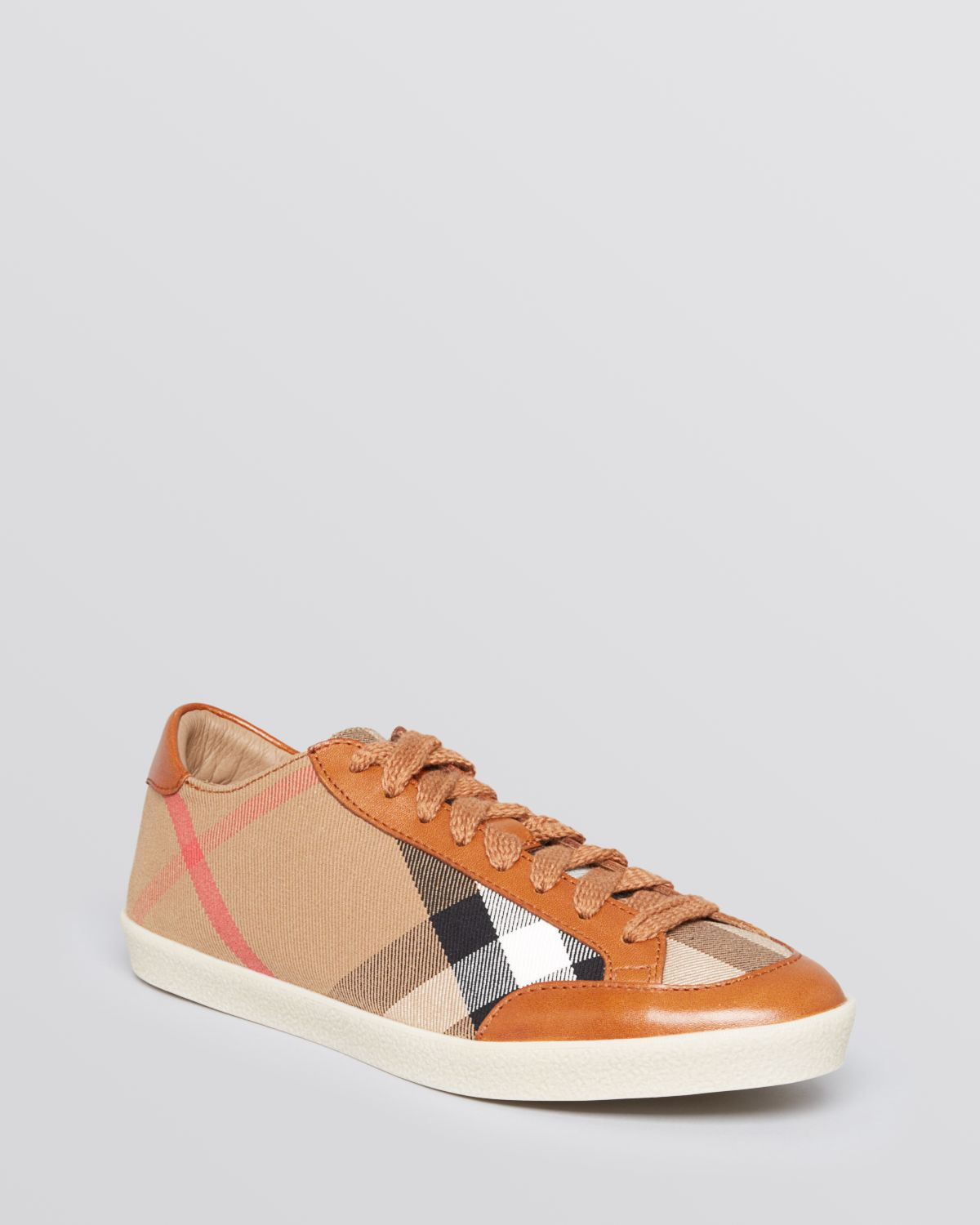Burberry Lace Up Sneakers Hartfield