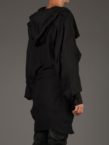 black trench coat with hood - photo #15