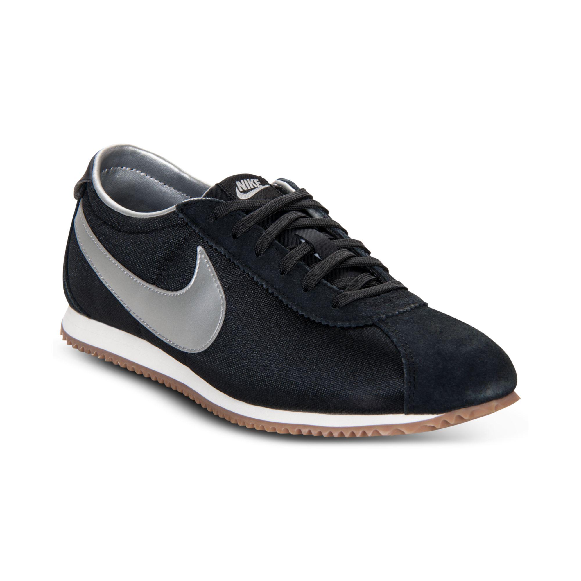 huge discount 7d00a 838d9 ... spain lyst nike cortez lite txt casual sneakers in black ff305 08a1b