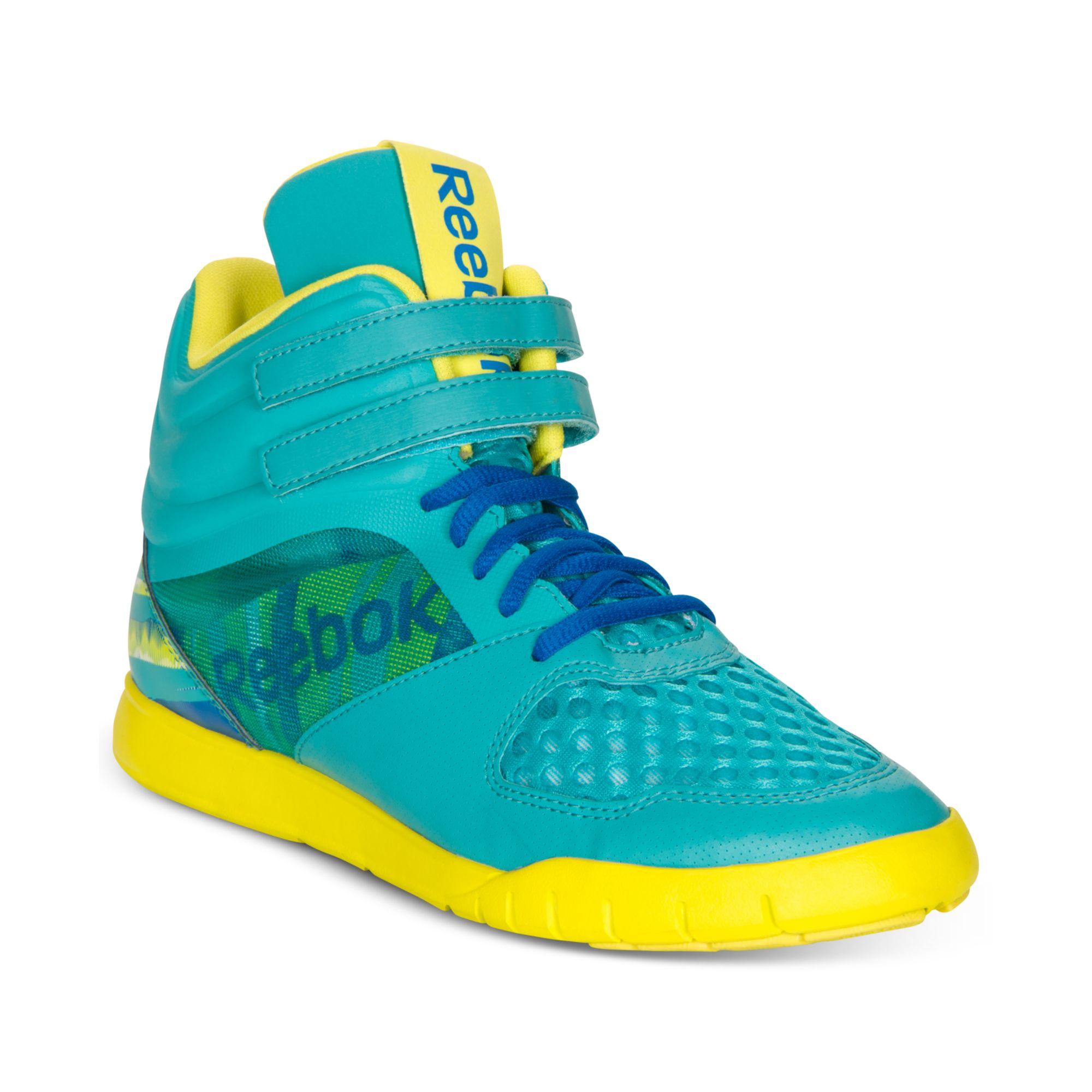 73bb8606a6c Lyst - Reebok Dance Ur Lead Mid Sneakers in Blue