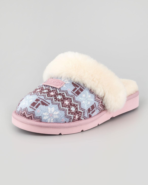 Lyst Ugg Cozy Nordic Knit Slipper