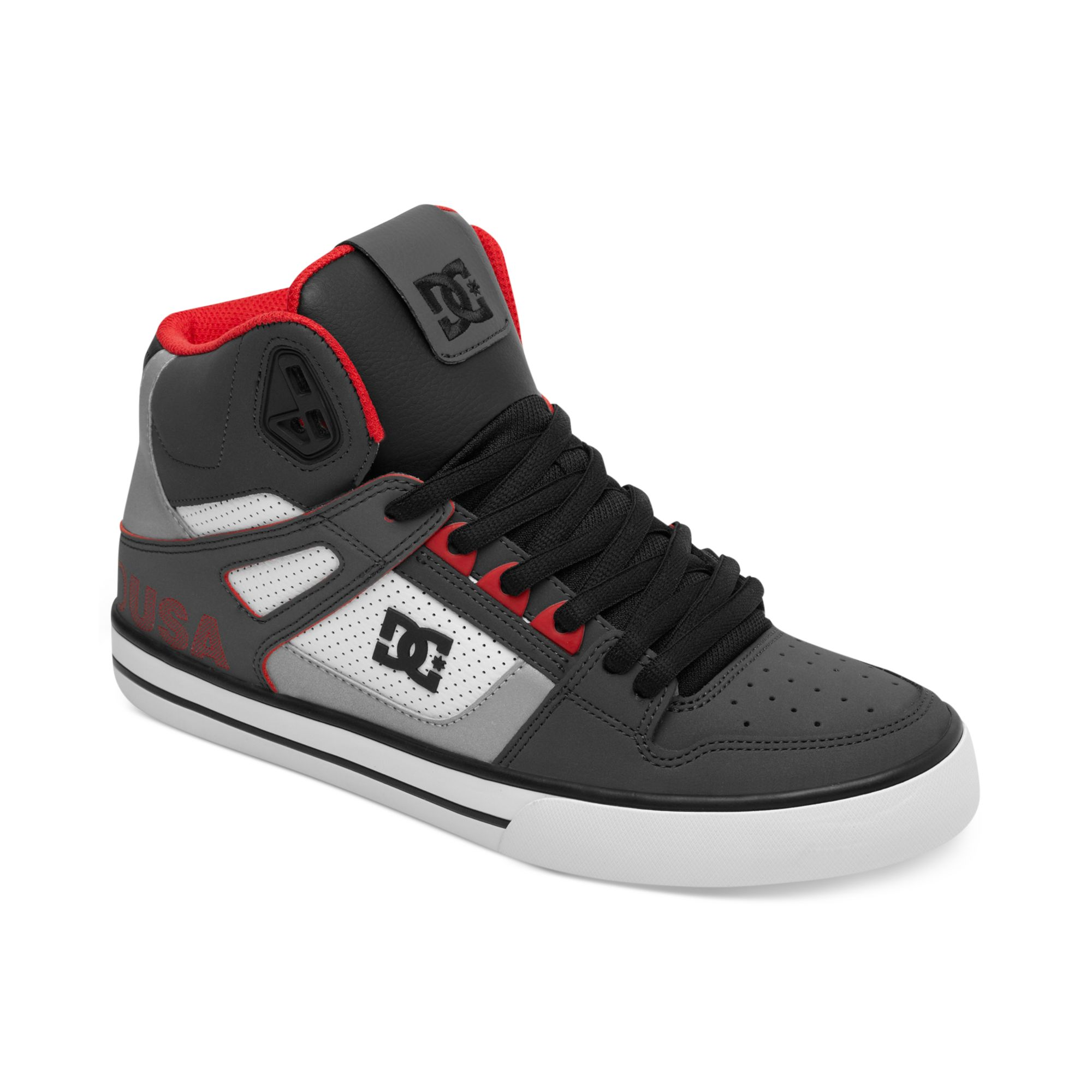 031f263928ab DC Shoes Spartan Hi Wc Se Sneakers in Gray for Men - Lyst