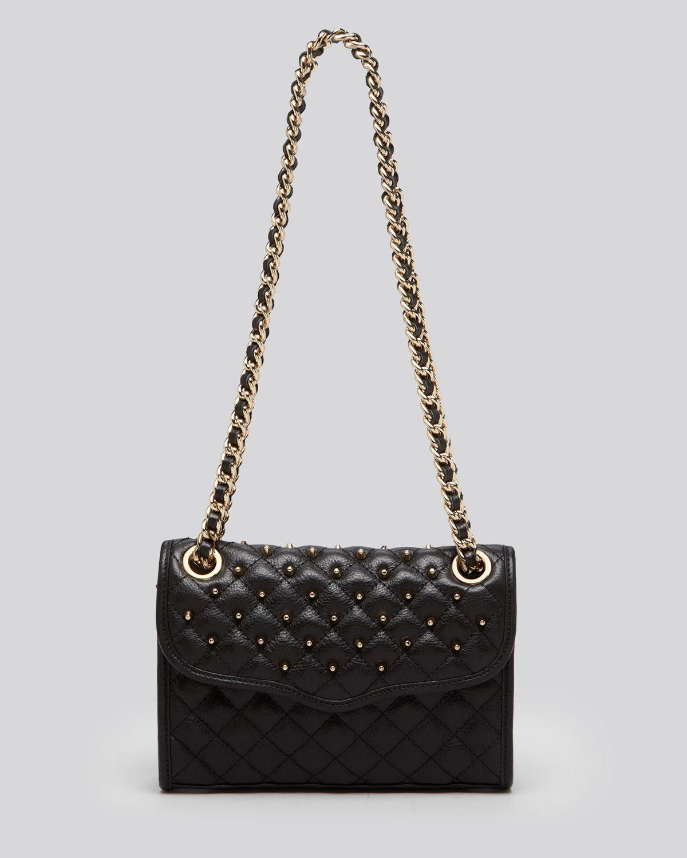 Lyst Rebecca Minkoff Shoulder Bag Exclusive Mini Studded