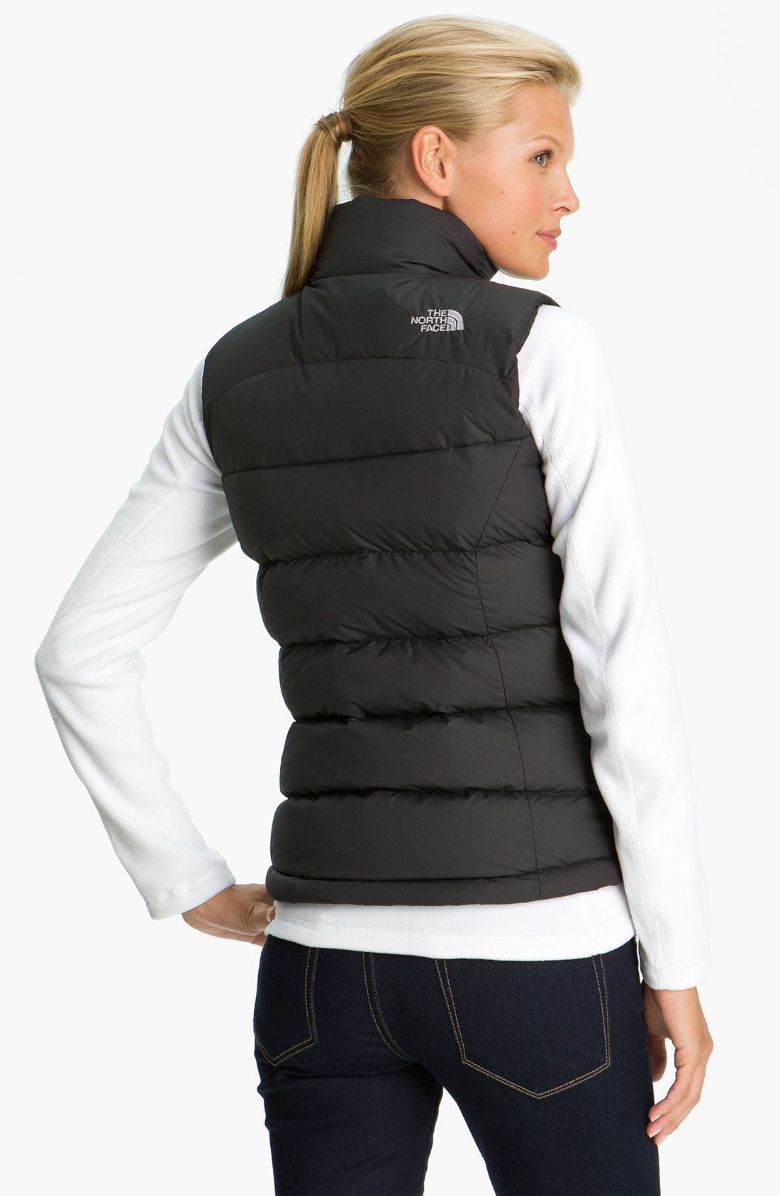 Gallery - The North Face Nuptse Quilted Down Vest In Black Lyst