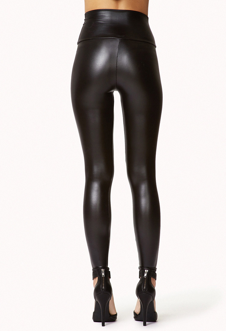 Cool Leather Pants For Women Forever 21 Leather Joggers On Pinterest