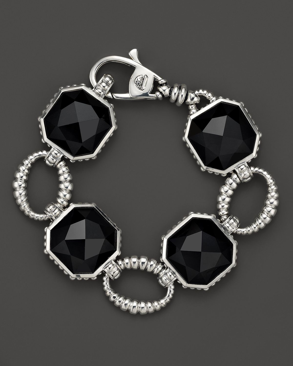 Lyst Lagos Sterling Silver Large Color Rocks Black Onyx