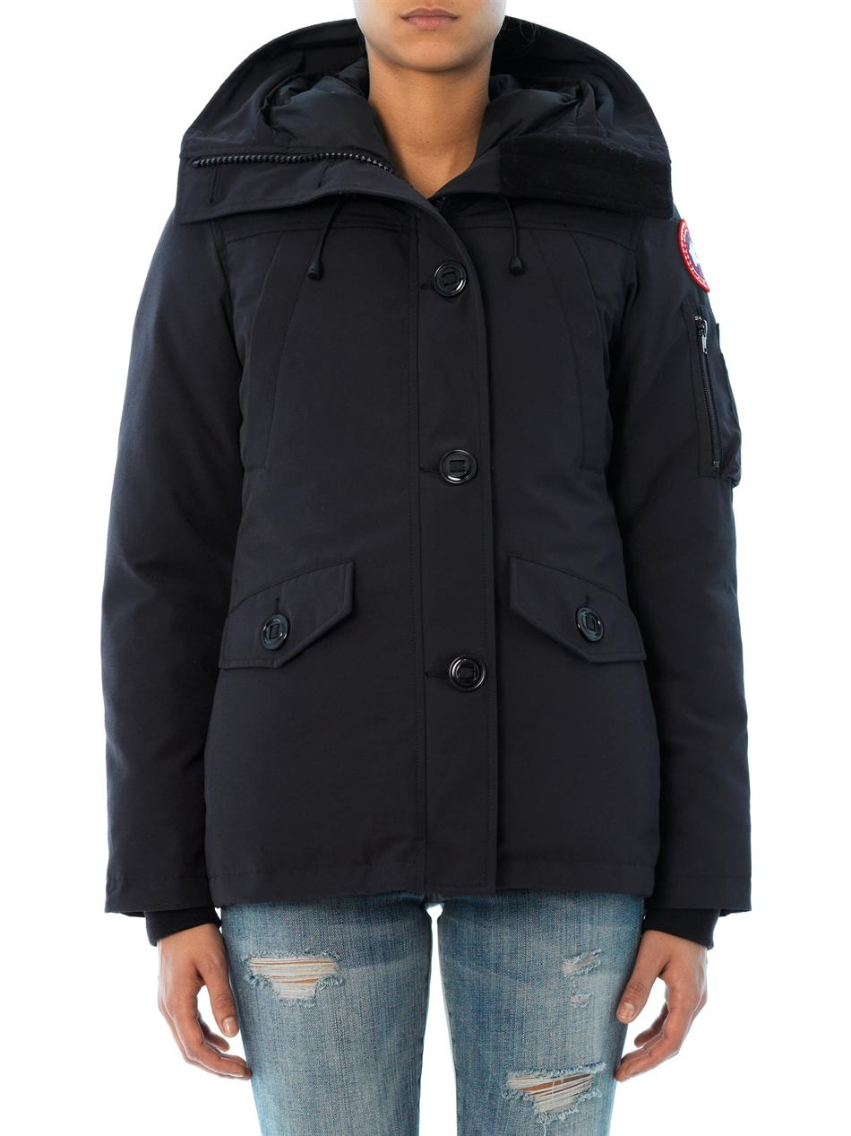 canada goose without fur