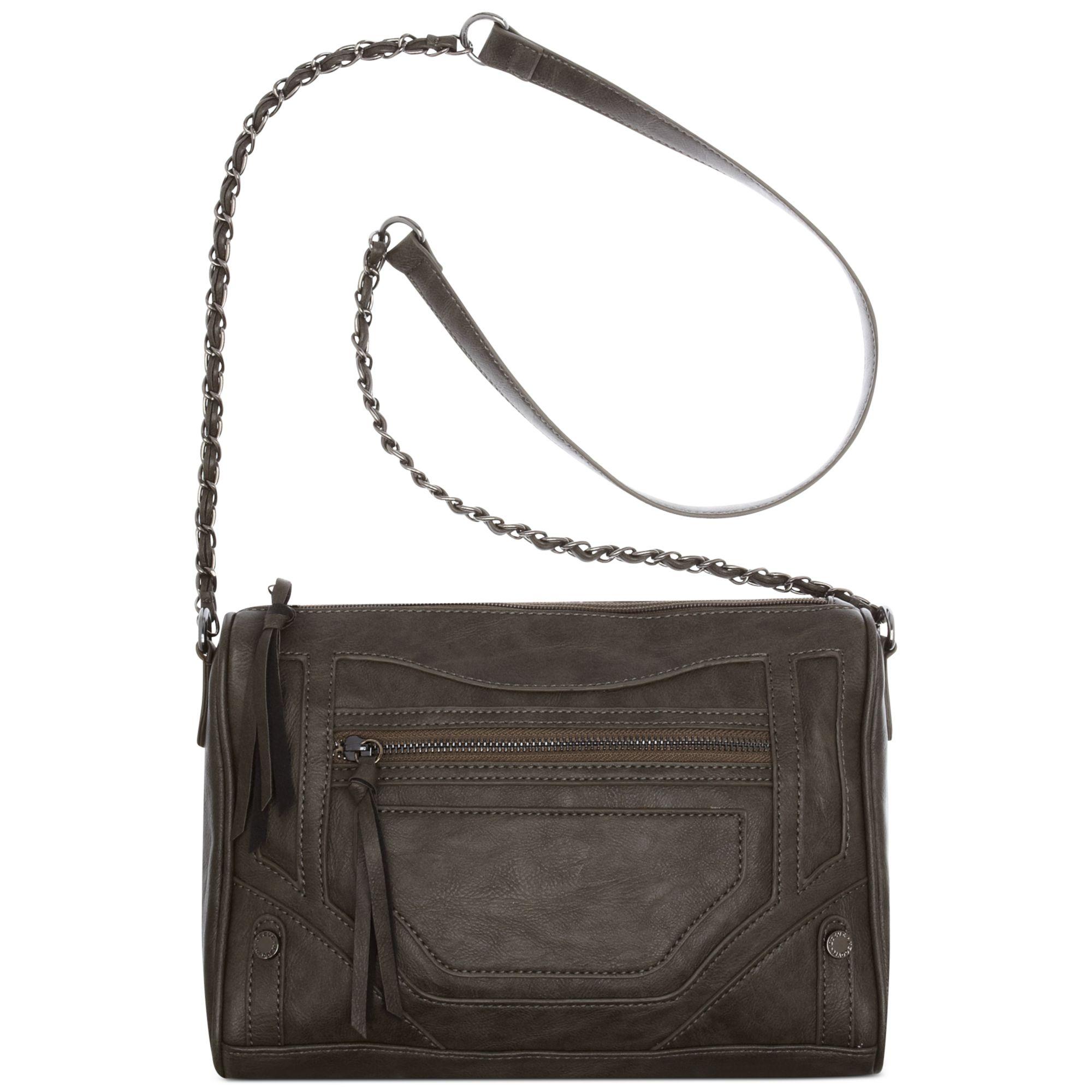 f376e17e87e5c Lyst - Steve Madden Steve Madden Handbag Bkenzy Crossbody in Gray