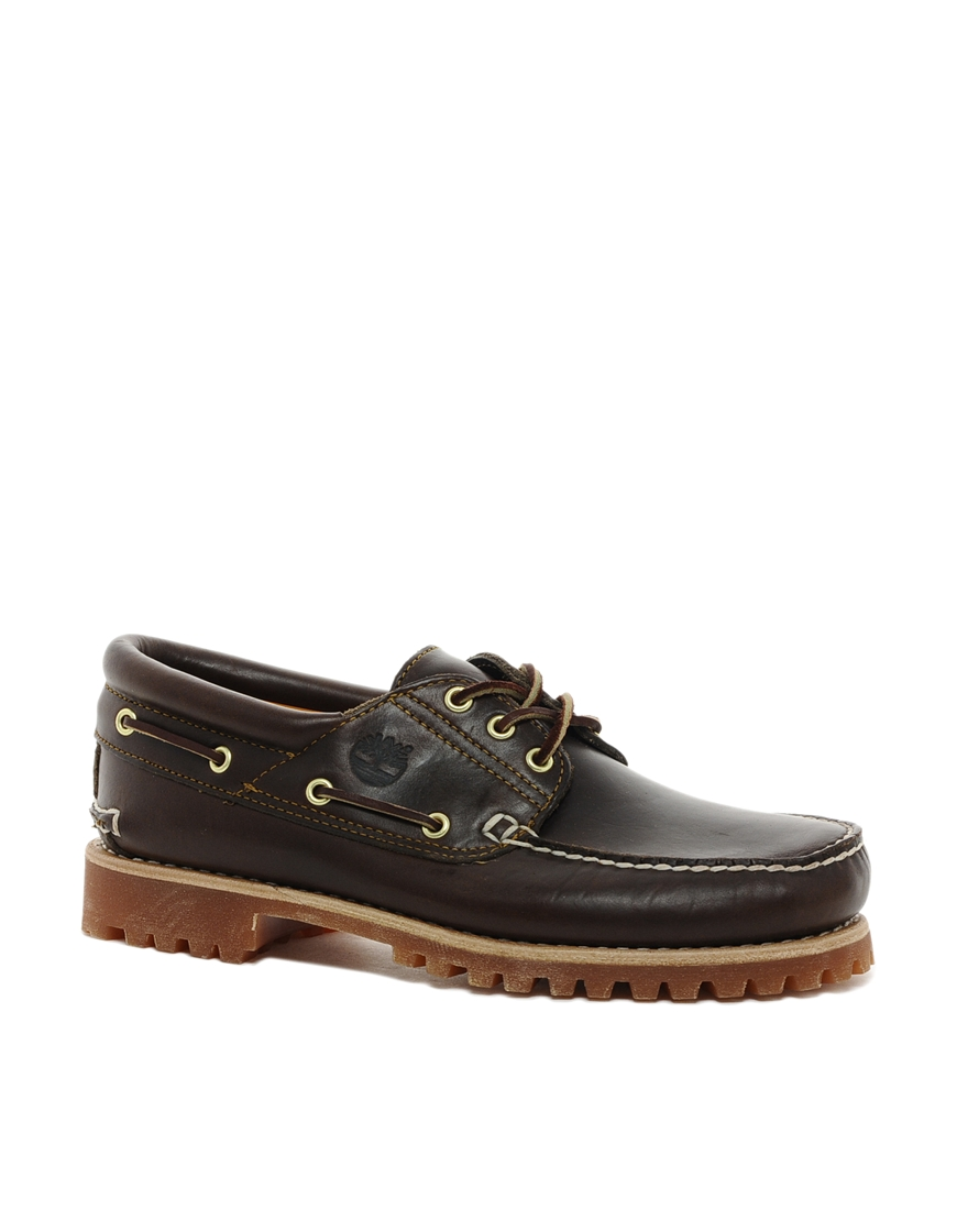 Timberland Three Eye Boat Shoes Black