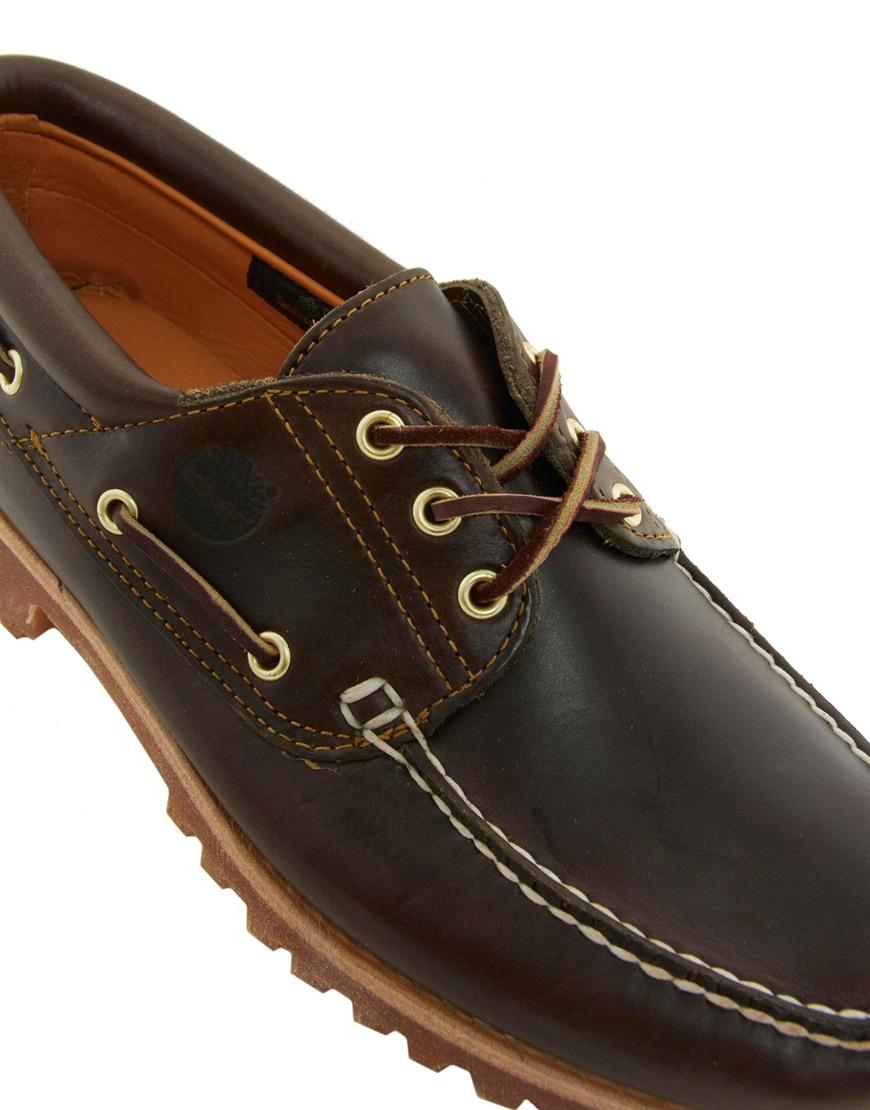 Timberland Three Eye Boat Shoes Black