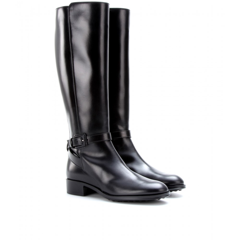 Tod's Leather Riding Boots jX1fI