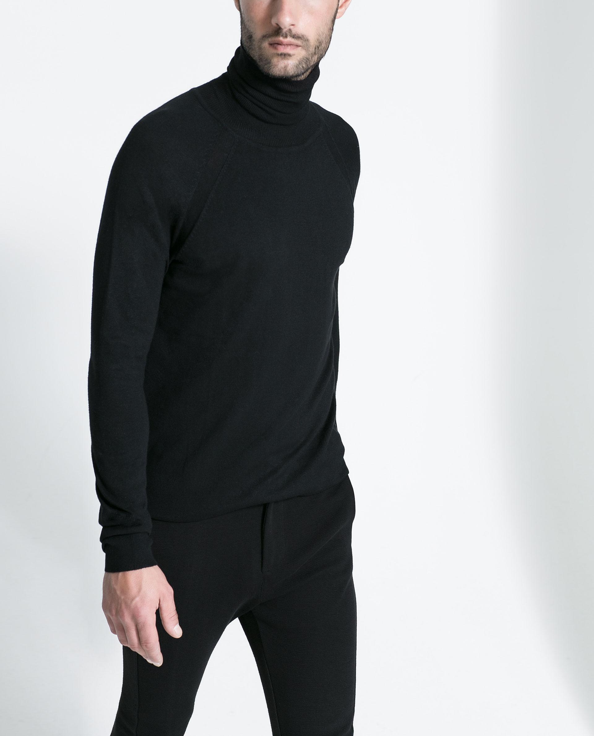 Zara Turtleneck Sweater Mens 39