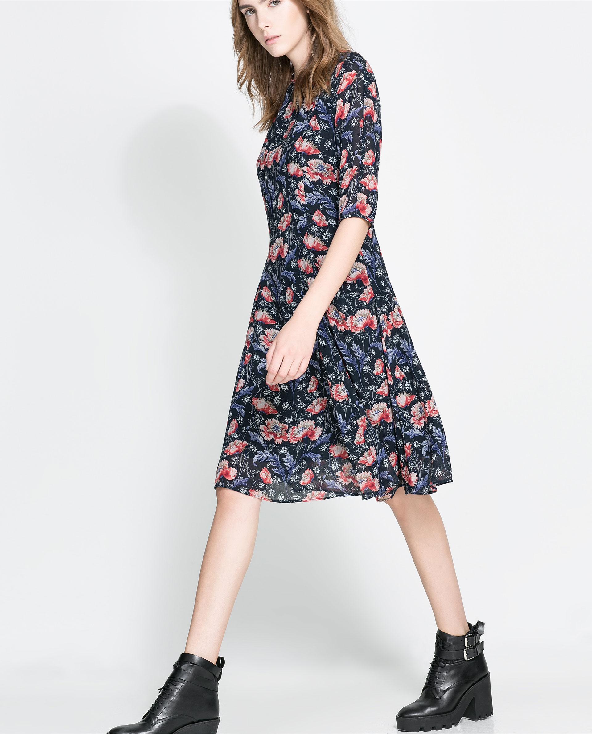 Zara kleid 2018