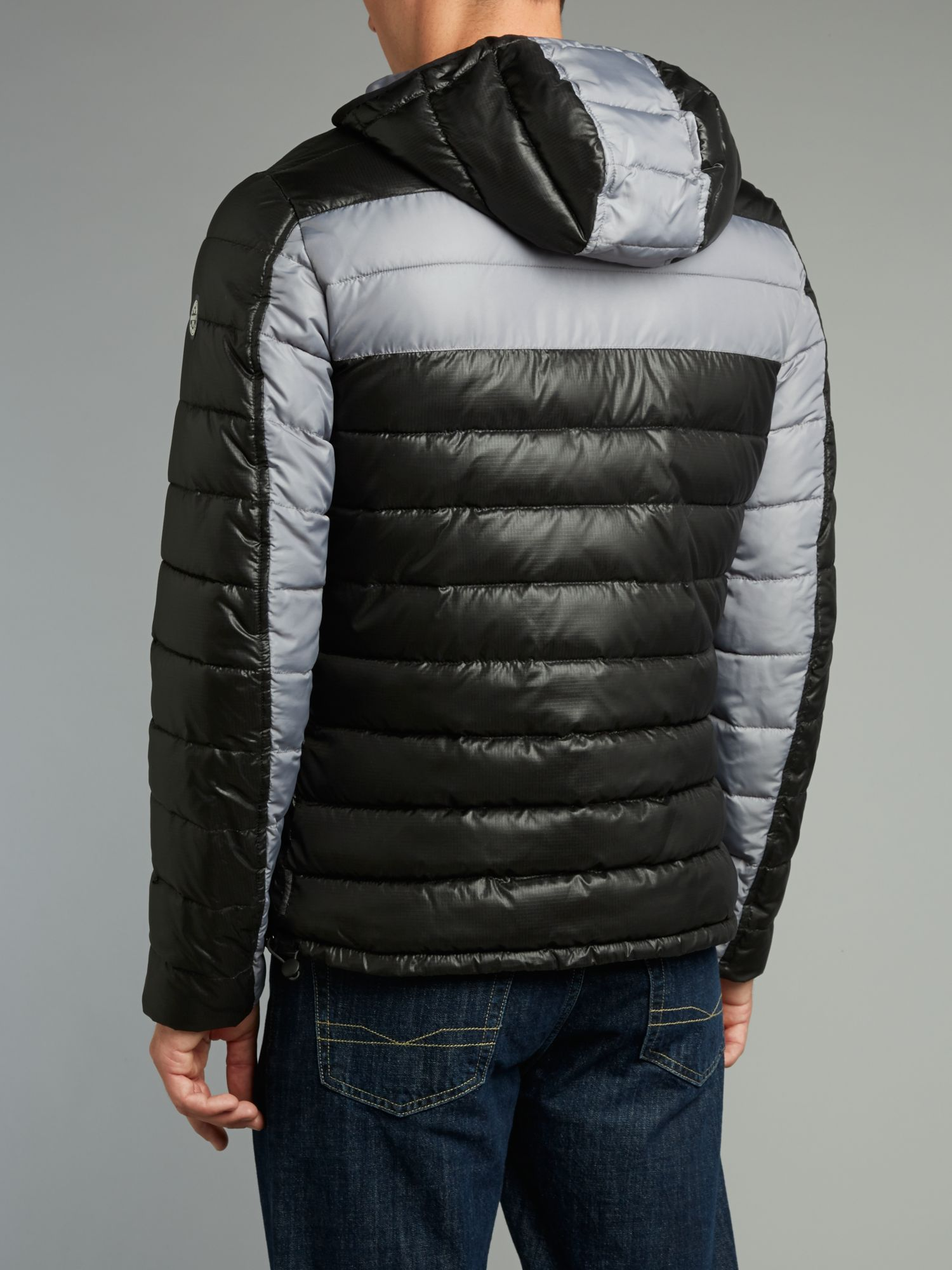 Armani jeans Reversible Quilted Jacket in Black for Men   Lyst : armani jeans quilted jacket - Adamdwight.com
