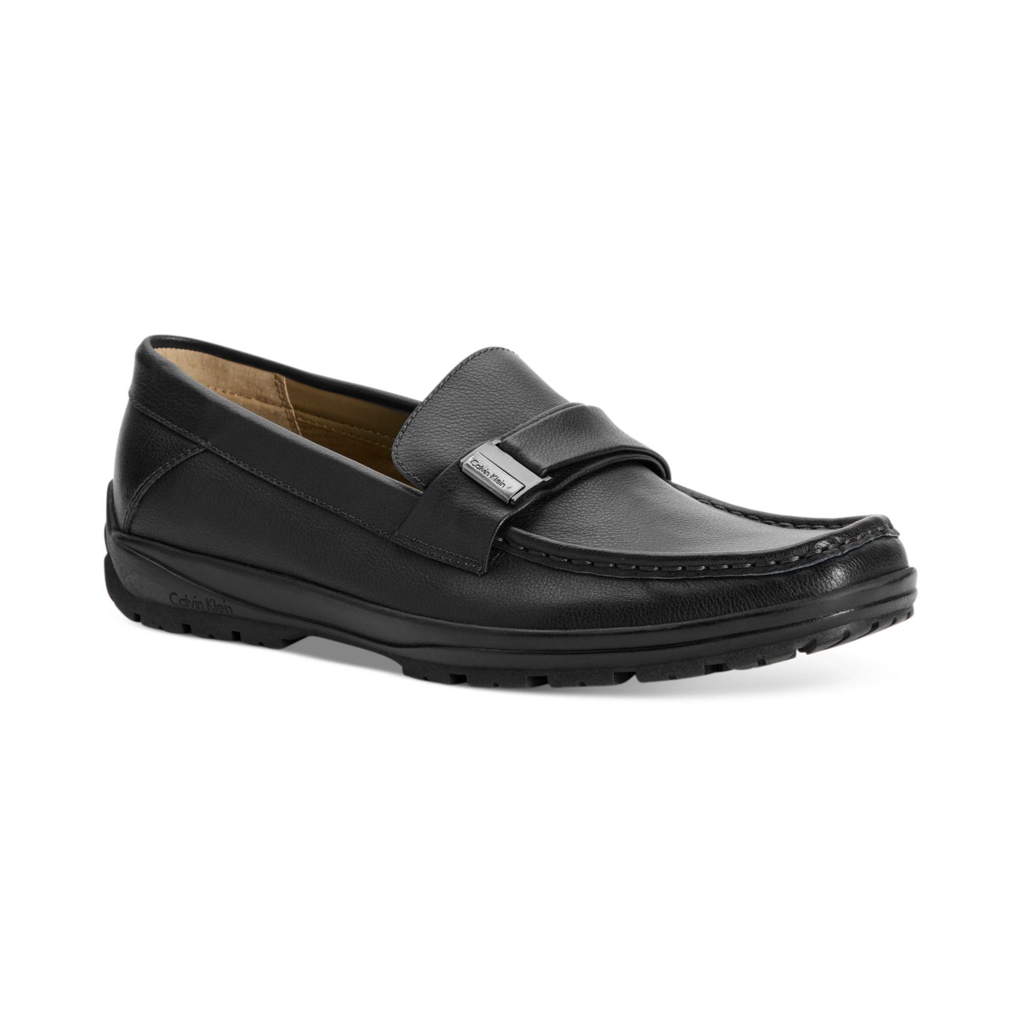 Calvin Klein Calvin Klein Mens Shoes Quinlan Bit Slip-on Shoes in