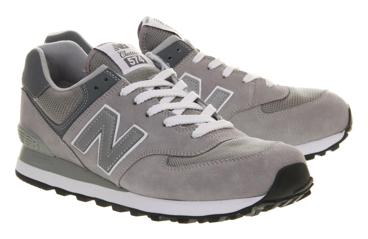 buy online 0b1de 7cce9 New Balance Gray M574 Grey 80s for men