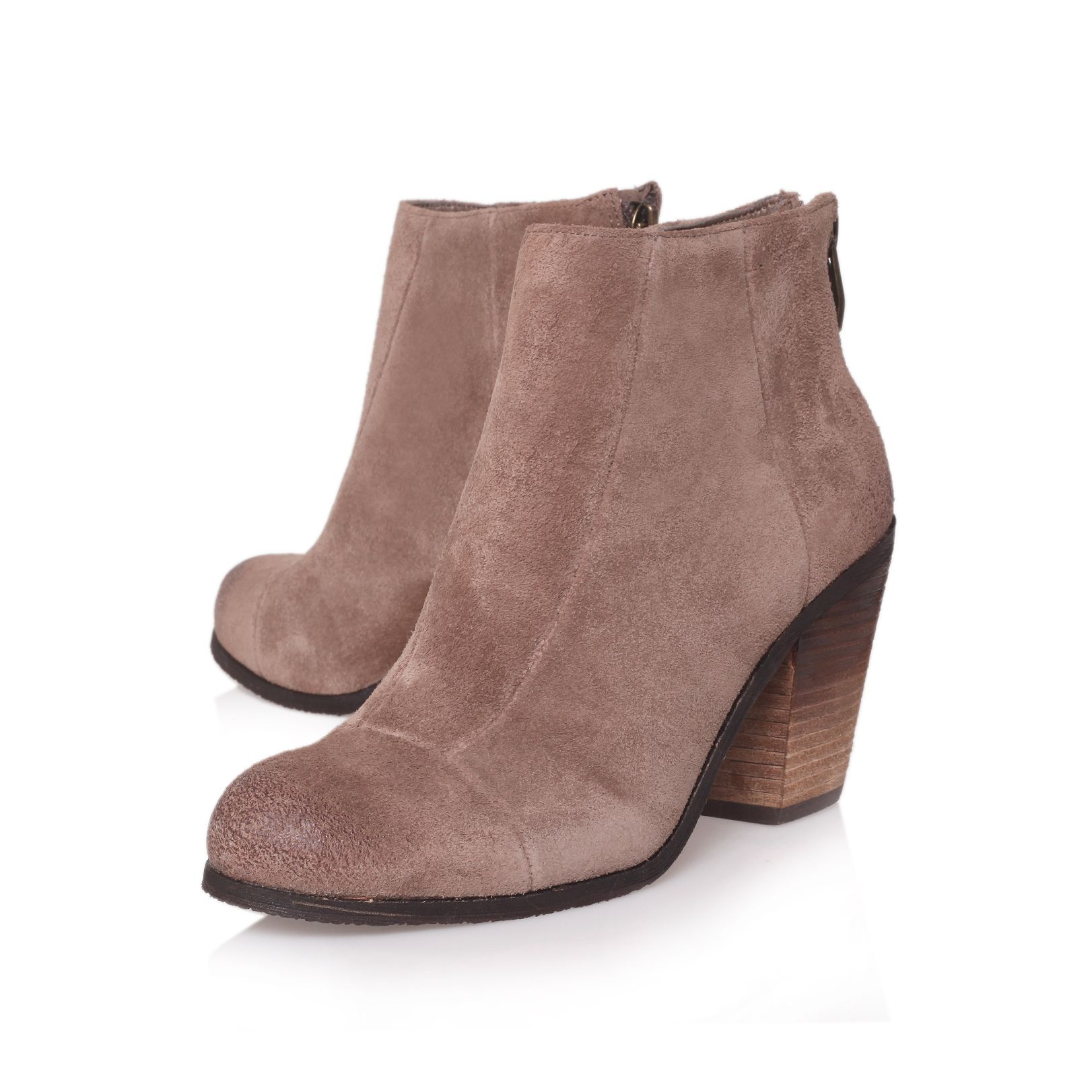 Vince Camuto Graysen Ankle Boots in Taupe (Pink)