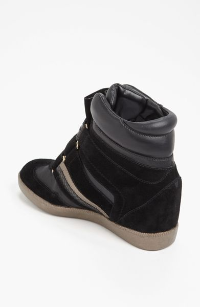 Bcbgeneration Anthony Wedge Sneaker In Black Lyst