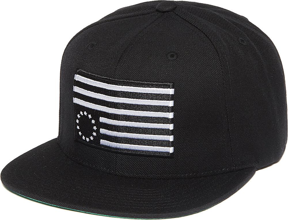 Black Scale Rebel Slam Snapback Cap in Black for Men - Lyst 7498e742624