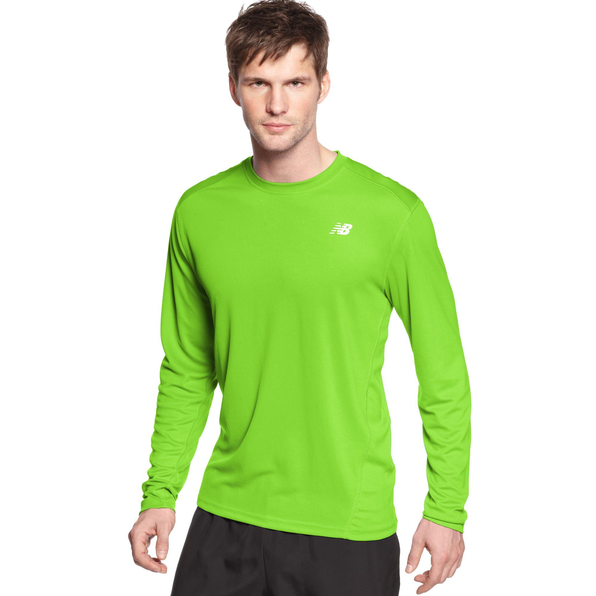 New Balance Shirt Go2 Long Sleeve Running T-shirt