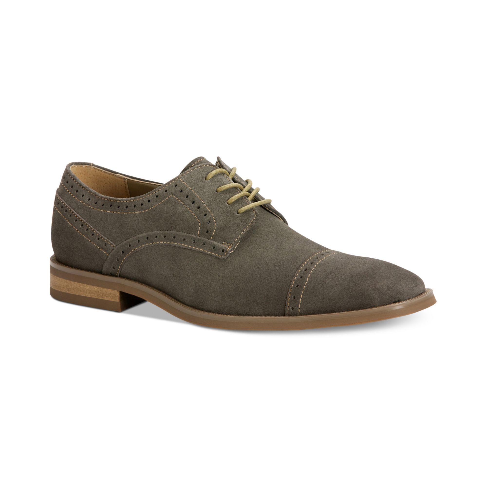 Macys Grey Mens Dress Shoes