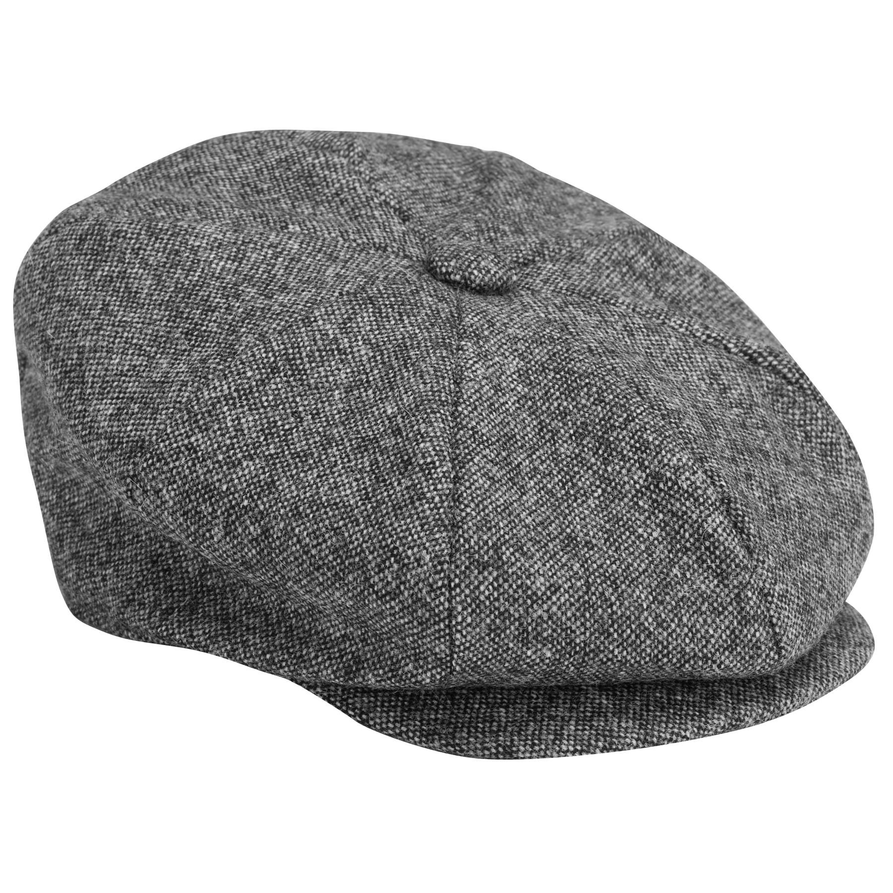 0b5b9968c John Lewis Donegal Tweed Baker Boy Cap in Gray for Men - Lyst