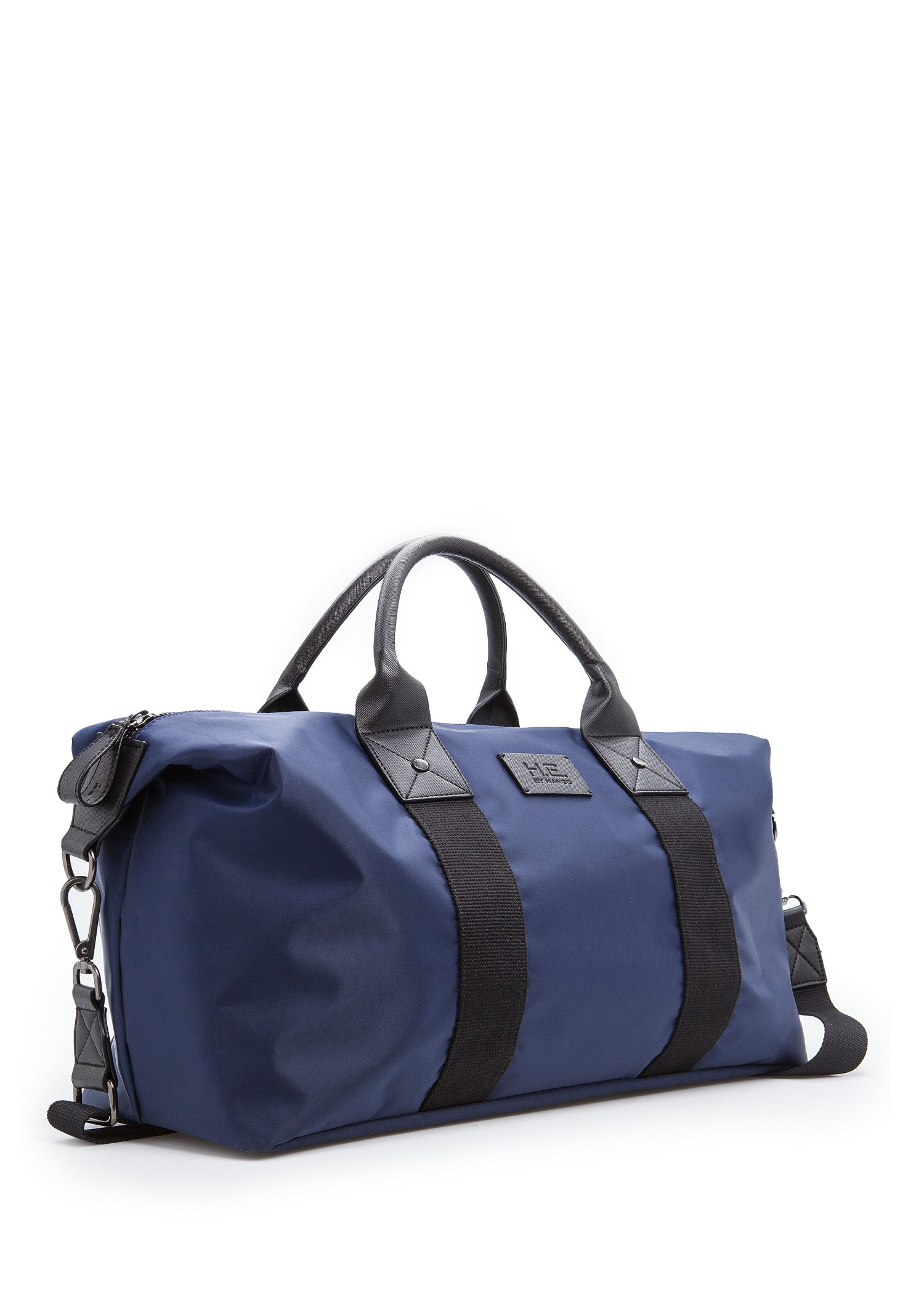 Mango Nylon Weekend Bag in Blue for Men | Lyst