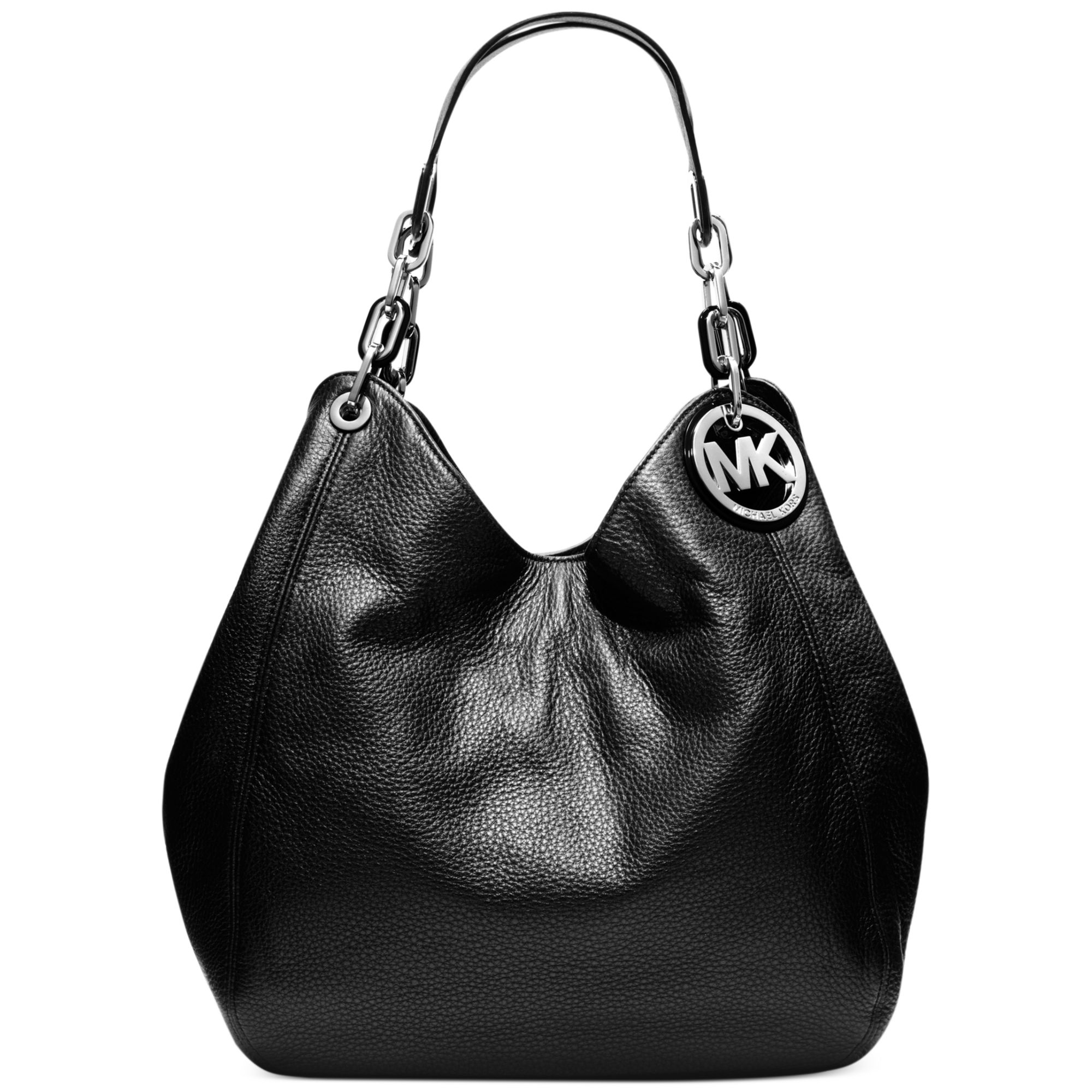 Michael Kors Fulton Large Shoulder Tote In Black Lyst