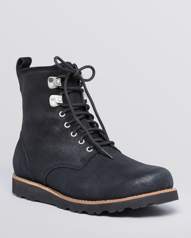 UGG Ugg® Australia Waterproof Hannen Leather Boots in ...
