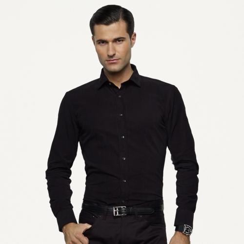Black Tailored Shirt | Artee Shirt