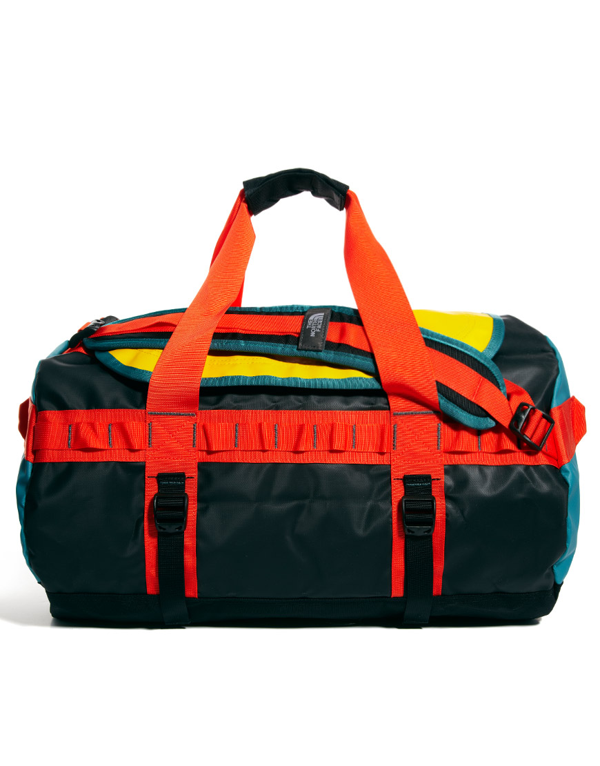 75b894338a ASOS The North Face Base Camp Duffel Bag in Red for Men - Lyst