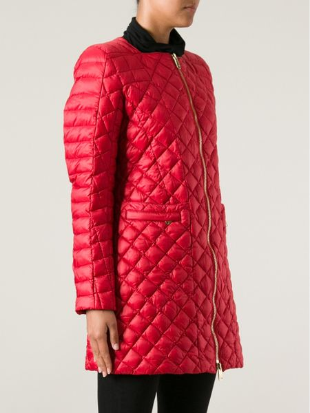 Coast Weber Ahaus Quilted Jacket In Red Lyst
