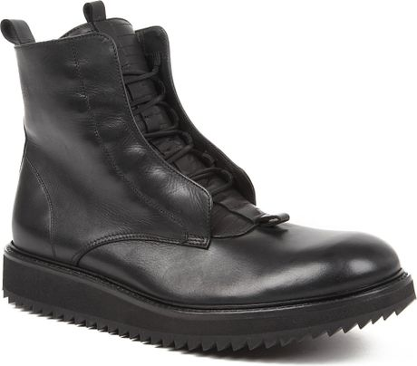 damir doma fusco ripple sole boots in black for lyst