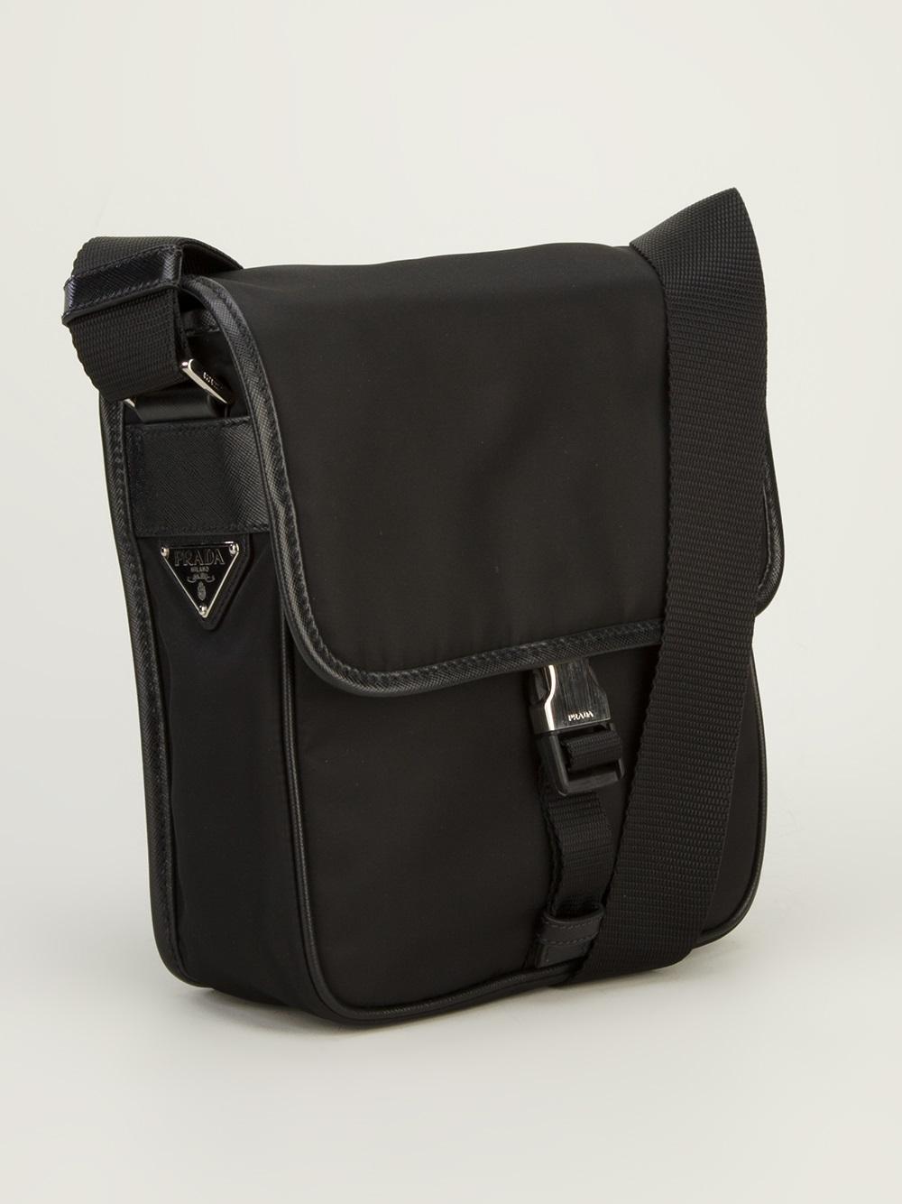 ... ireland lyst prada messenger bag in black for men 2f9dc 2166b b5b6401cd3f7c