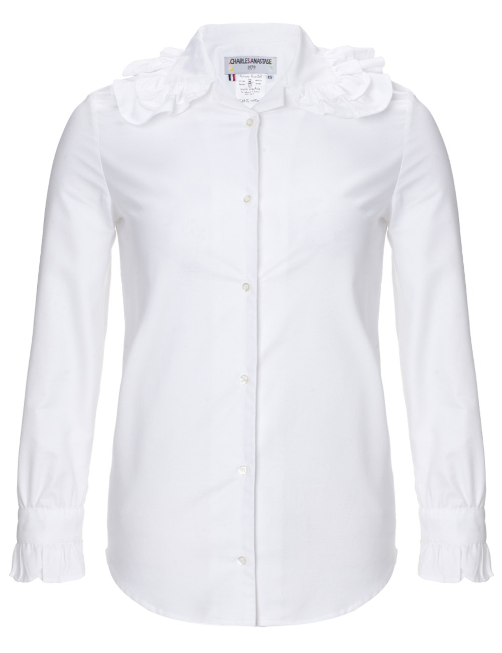 White Cotton Blouse Shopstyle 64